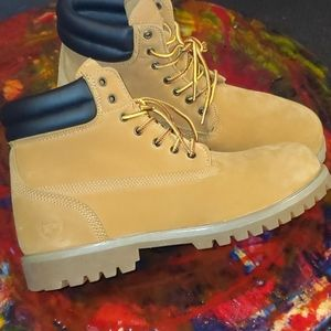 Phat Farm Timberland styled work boot